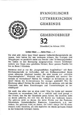 Advent 1958