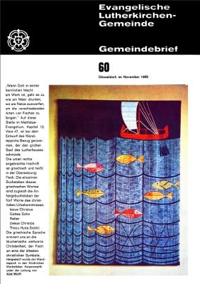 Gemeindebrief November 1965