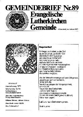 Advent 1973