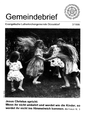 Gemeindebrief 3/1999