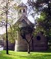 Blick auf den Chor von Alt St. Martin