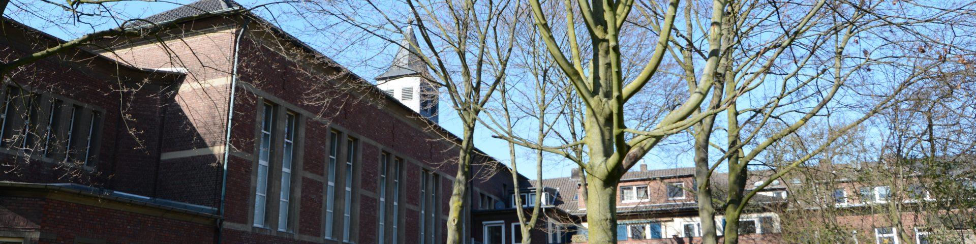 Lutherkirche von Süden aufgenommen