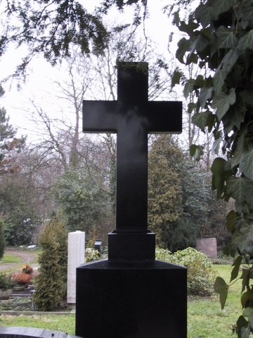 Grabstein auf dem Südfriedhof