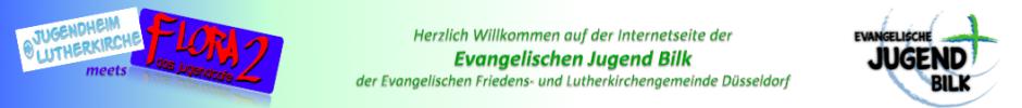 Banner der Evangelische Jugend Bilk