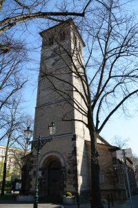 Alt St. Martin von West, Süd–West aufgenommen