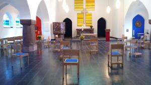 Heilig-Geist-Kapelle mit Corona Bestuhlung