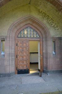 Eingangsportal der Heilig-Geist-Kapelle