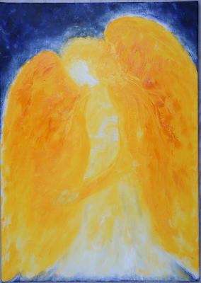 """Bild von Petra Walter """"Warum haben Engel Flügel?"""""""