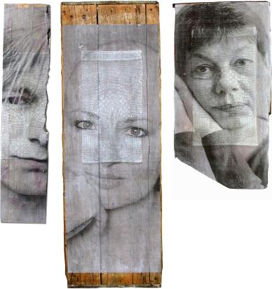"""Bild von Hanne Horn """"Fotografie und ..."""" Triptychon aus Otzenrath"""