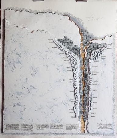 """Bild von Georg Firmans """"Inszenierung topografischer Bild-Welten"""" Reissverschluss"""