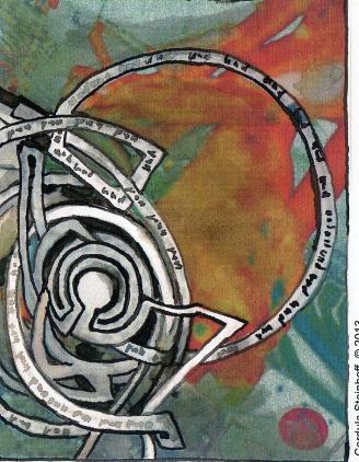 """Bild von Cordula Steinhoff """"Im Labyrinth der Zeit"""""""