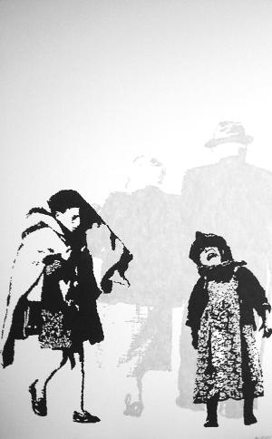 """Bild von Karin Dörre """"Weiß oder schwarz"""""""