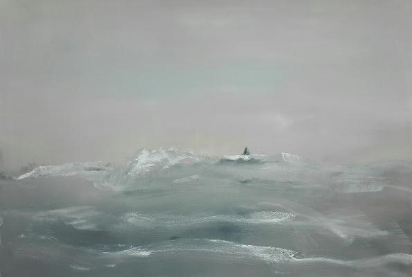 raue See - Bild von Karin Voges