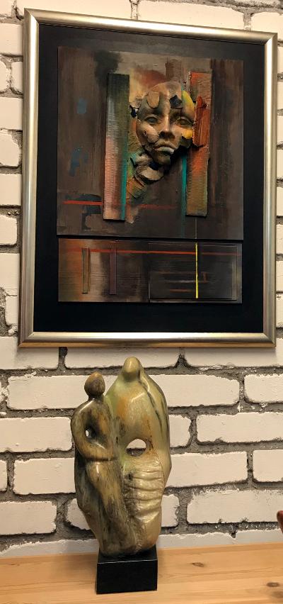 Bild von Wilfried Weiß über Skulptur von Ingrid Handzlik