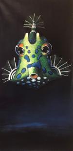 Küpper-Kofferfischchen-Acryl auf Leinwand