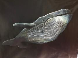 """Marayle Küpper """"Blauwal"""" Acryl_auf_Leinwand"""