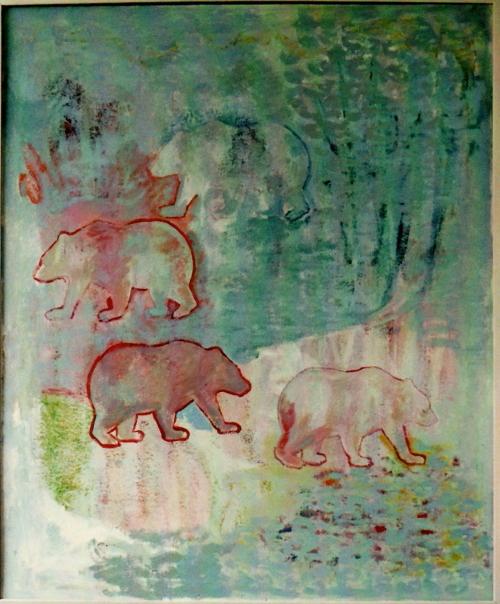 """Bild von Isabel Kneisner """"Tiere"""""""